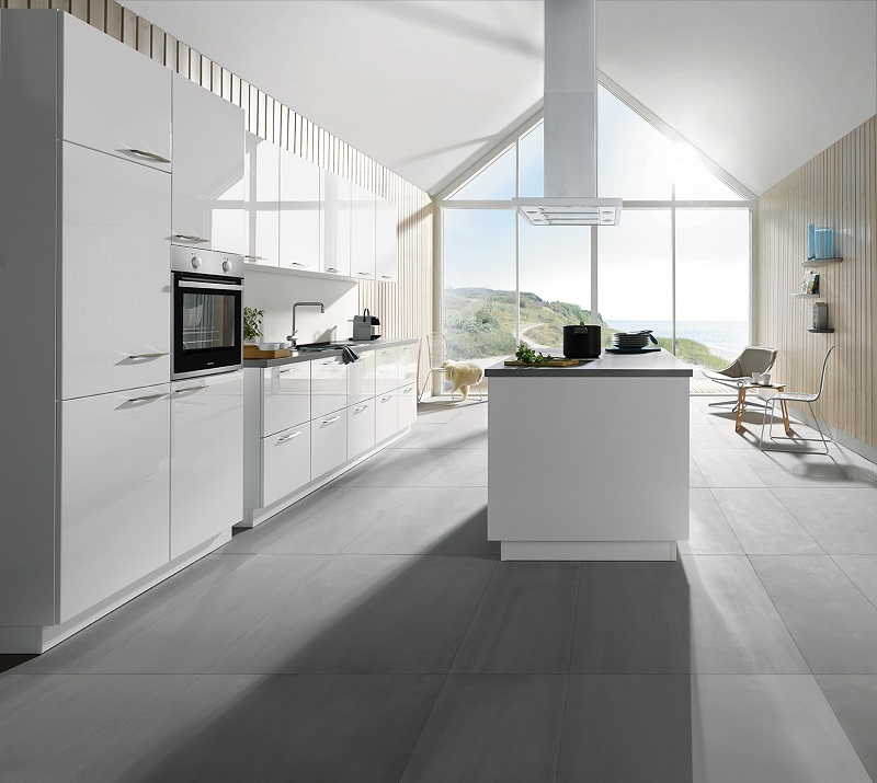 Küche mit Kochinsel - Cranz & Schäfer