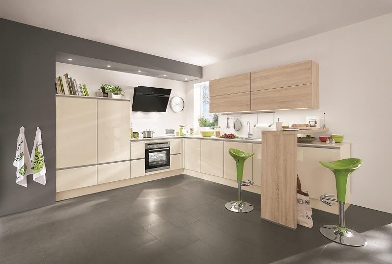 Küchen l form hochglanz  Küche in L-Form - Cranz & Schäfer