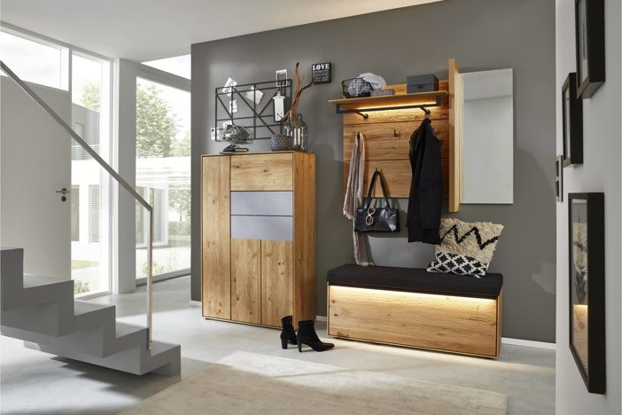 garderobe naturholz awesome castell ii with garderobe. Black Bedroom Furniture Sets. Home Design Ideas