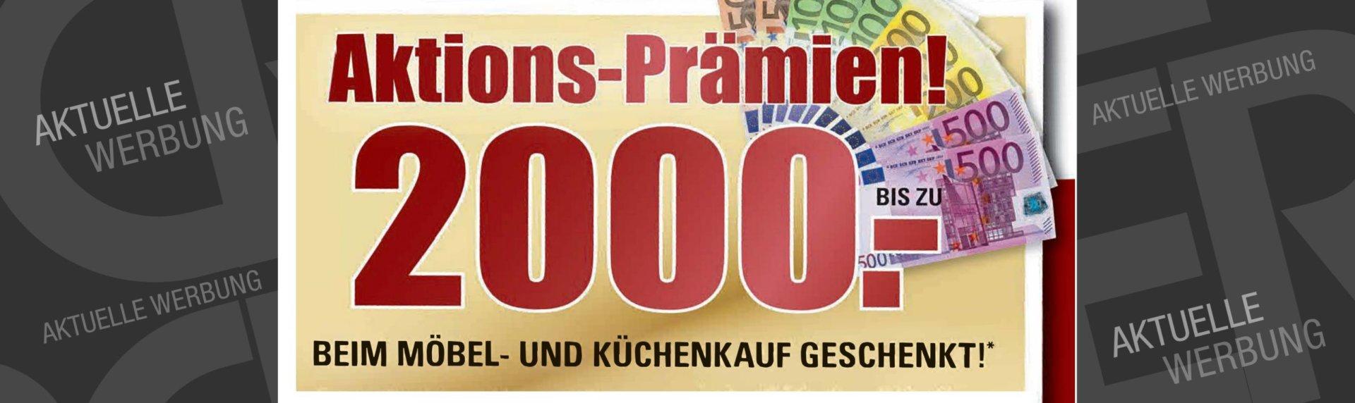 Aktuelle Werbung 201810 Attraktive Prämien Aktion Möbel Und