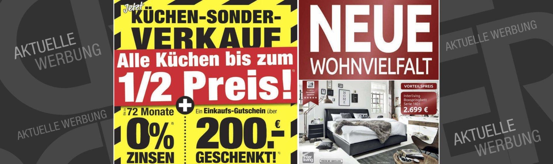 aktuelle werbung. Black Bedroom Furniture Sets. Home Design Ideas
