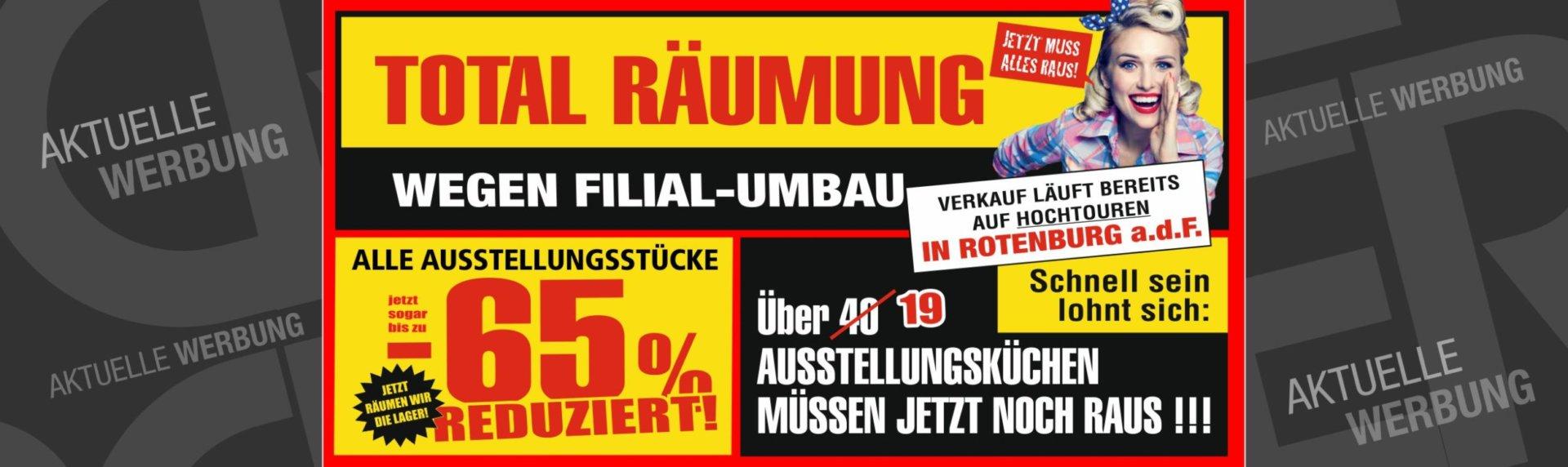 Gro er total r umungsverkauf bei cranz sch fer in rotenburg a d f m bel und k chen von - Mobel cranz und schafer eisenach ...