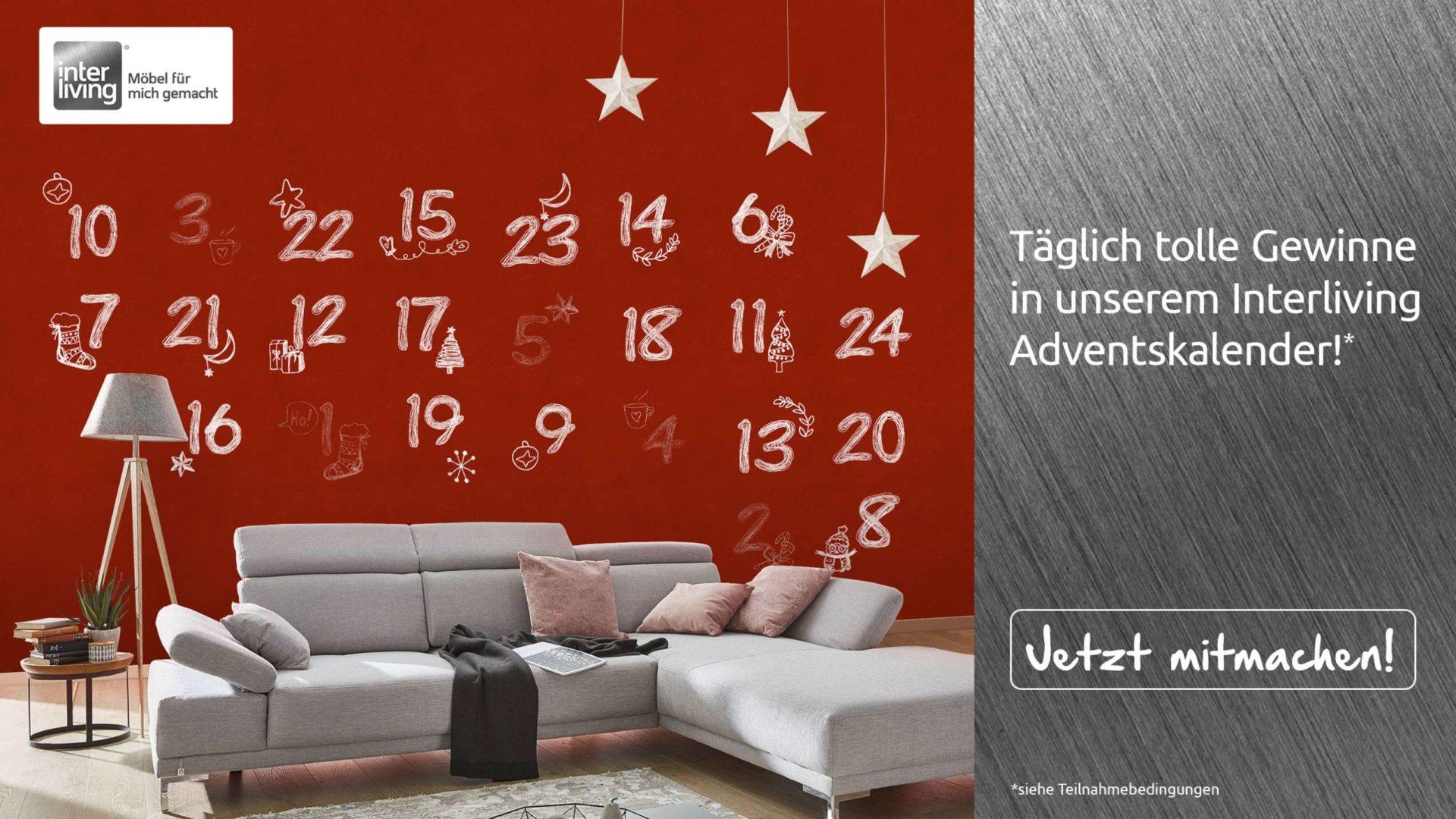 alle jahre wieder unser cranz sch fer adventskalender 2018 ist online m bel und k chen von. Black Bedroom Furniture Sets. Home Design Ideas